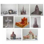 Maquettes en carton : Set collectionneur 8 modèles