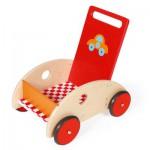Chariot de marché en bois : F1