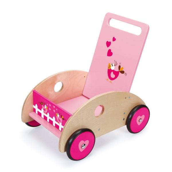 Chariot de marché en bois : Love Birds - Scratch-6181429