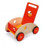 Chariot de marché en bois : Mouche Volante