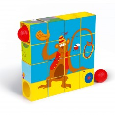 Cubes à empiler : Puzzle & Roller Coaster Cirque