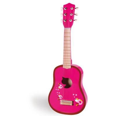 guitare en bois love birds jeux et jouets scratch europe avenue des jeux. Black Bedroom Furniture Sets. Home Design Ideas