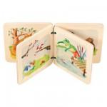 Livre en bois Mon livre-jeu de la forêt