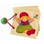 Livre en bois Mini album aux couleurs variées: Jouets d'enfants