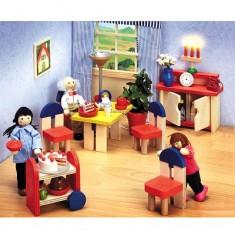 Salle à manger en bois Ronda