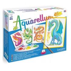Aquarellum Junior : Dragons
