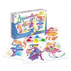 Aquarellum Junior : Magical girls