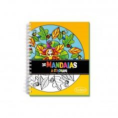 Carnet de coloriage : Mandalas