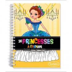 Carnet de coloriage : Princesses