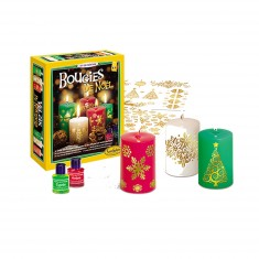 Kit créatif : Bougies de Noël