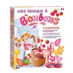 Mini kiosque à bonbons Arômes fruits rouges