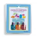 Recharge : 3 colorants cosmétiques pour savons et bains moussants