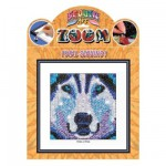 Kit paillettes Art Sequin et perles : Zoom husky