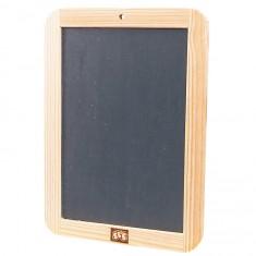 Ardoise 25 x 18 cm avec cadre en bois