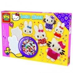 Boite de 2400 perles Technique à repasser : Hello Kitty 2400 perles