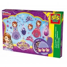 Boîte de perles Technique à repasser : Princesse Sofia Disney : 1600 pièces