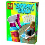 Craie en spray Spray Chalk 200 ml : Bleu