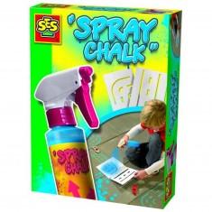 Craie en spray Spray Chalk 200 ml : Bleu