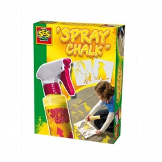 Craie en spray Spray Chalk 200 ml : Jaune