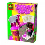 Craie en spray Spray Chalk 200 ml : Rose