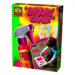 Craie en spray Spray Chalk 200 ml : Rouge