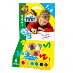 Crayons Crayons en cire : Color ball fluo