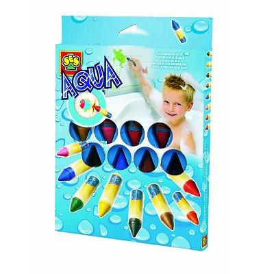 Crayons pastels pour le bain aqua peinture 8 couleurs - Peinture pour le bain ...