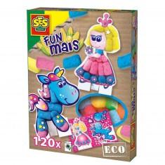 Funmais Eco : Cartes Princesse et cheval