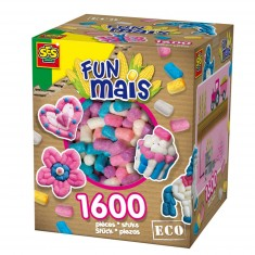 Funmais Eco : Grande boite mix de 1600 pièces Filles