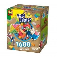 Funmais Eco : Grande boite mix de 1600 pièces