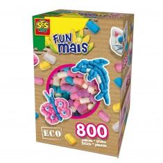 Funmais Eco : Mix de 800 pièces Filles