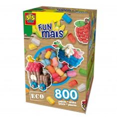 Funmais Eco : Mix de 800 pièces
