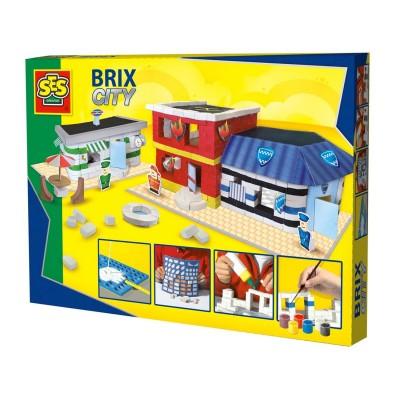 jeu de construction brix city la ville jeux et jouets ses creative avenue des jeux. Black Bedroom Furniture Sets. Home Design Ideas