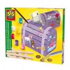 Kit de fabrication d'une tirelire Coffre de princesse