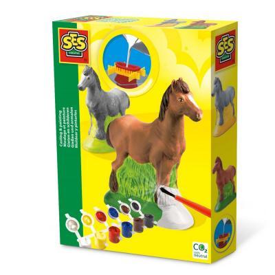 kit de moulage en pl tre cheval jeux et jouets ses. Black Bedroom Furniture Sets. Home Design Ideas