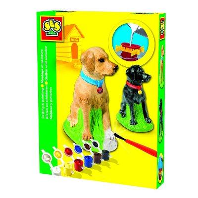 kit de moulage en pl tre chien labrador jeux et jouets. Black Bedroom Furniture Sets. Home Design Ideas