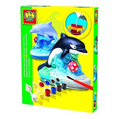 kit de moulage en pl tre dauphins jeux et jouets ses. Black Bedroom Furniture Sets. Home Design Ideas