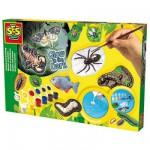 Kit de moulage en plâtre Glow in the dark : Insectes et animaux