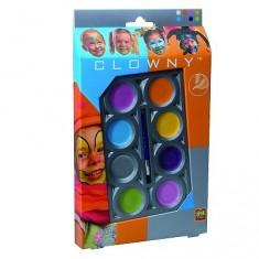 Palette de maquillage Aqua 8 couleurs Clowny : Tendance