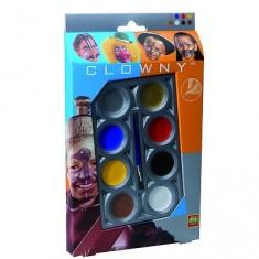 Palette de maquillage Aqua 8 couleurs Clowny
