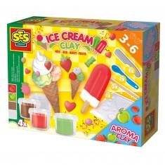 Pâte à modeler : Fabrication des glaces