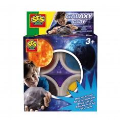 Pâte à modeler douce : Galaxy 4 pots