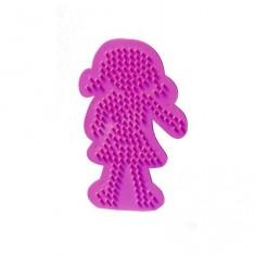 Plaque pour perles Technique à repasser : Fille