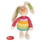 Boîte à musique lapin arc-en-ciel Rainbow Rabbit