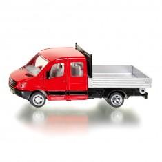 Modèle réduit en métal : Camion avec plateau Mercedes-Benz Sprinter