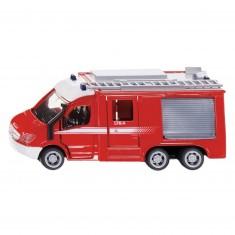 Modèle réduit en métal : Camion de pompiers Mercedes-Benz Sprinter