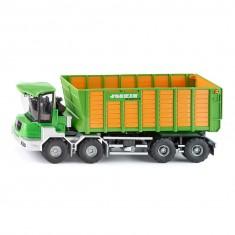Modèle réduit en métal : Joskin Cargotrack avec wagon de chargement