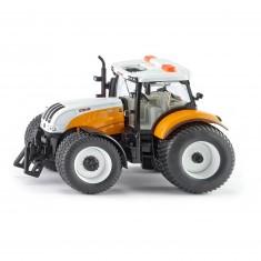 Modèle réduit en métal : Tracteur Steyr 6240 CVT Communal