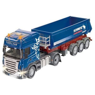 siku modele reduit radiocommande camion benne