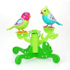 Digibirds : Arbre + deux oiseaux